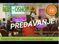 REIKI - uvodno predavanje, 2. dio, Danijel Salijević