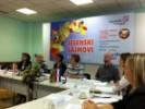 Konferencija za novinare povodom početka Jesenskih sajmova i MYSTIC-a, na čelu stola sjedili su predstavnici Poljske - zemlje partnera sajma, predstavnici Zagrebačkog Velesajma i predsjednik HUPED-a.