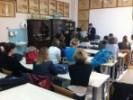 Dio predavanja se je održavao na Veterinarskom fakultetu u Zagrebu.
