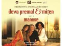 KONCERT: Meditativno-spiritualni glazbenici svjetskog glasa Deva Premal & Miten premijerno nastupaju u Lisinskom