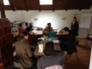 Dio predavanja se je održavao u HUPED-ovoj dvorani.