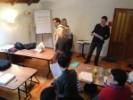 Dio predavanja se je održavao u HUPED-ovoj dvorani na adresi Kosirnikova 80 u Zagrebu.