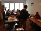 Dio predavanja iz homeopatije održavao se u predavaoni u HUPED-u.